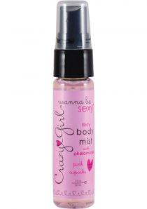 Crazy Girl Flirty Body Mist With Pheromones Pink Cupcake 1 Ounce