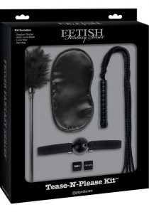 Fetish Fantasy Series Limited Edition Tease-N-Please Kit Black
