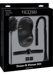 Fetish Fantasy Series Limited Edition Tease-N-Please Kit Black