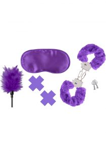 Fetish Fantasy Series Limited Edition Purple Passion Kit Purple