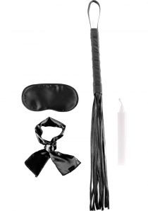 Fetish Fantasy Series Limited Edition Silky Seduction Kit Black