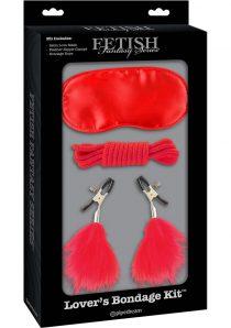 Fetish Fantasy Series Limited Edition Lover`s Bondage Kit Red