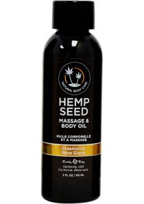Earthly Body Hemp Dreamcicle Massage and Body oil 2 ounces