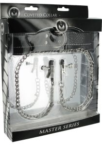 Master Series Adjustable Coveted Collar And Clamp Union Leather And Metal