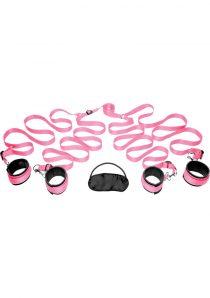 Frisky Bedroom Restraint Kit Pink