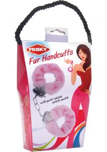 Frisky Caught In Candy Fur Hsand Cuffs Pink