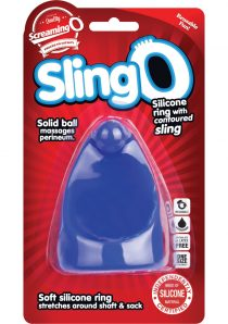 Swing O Silicone Ring With Contoured Sling Waterproof Blue 6 Each Per Box