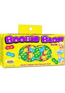 Boobie Blow Boobie Shaped Gum Fruit Flavored
