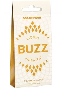 Liquid Buzz Vibrator Intimate Arousal Gel .23 Ounce