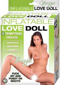 Inflatable Love Doll Maggie Waterproof Flesh