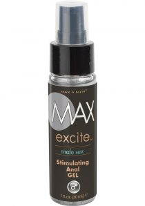 Max 4 Men Excite Male Sex Stimulating Anal Gel 1 Ounce Bulk