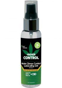 Higher Control Climax Gel With Hemp 2oz