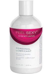 JimmyJane Feel Sexy Personal Silicone Based Lubricant 4 Ounce