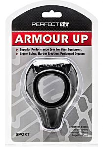 Armour Up Cock Ring Black Sport
