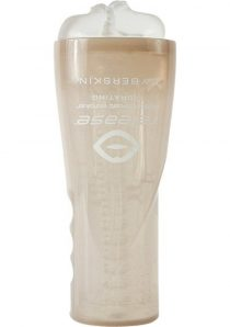 Cyberskin Release Deep Throat Vibrating Stroker Clear