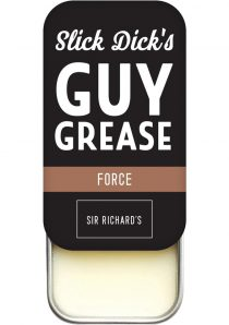 Slick Dick`s Guy Grease Solid Cologne Musky Scent Force .5 Ounce Tin