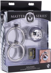 Master Series Solitary Extreme Confinement Cage Stainless Steel