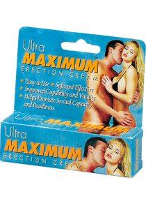 Ultra Maximum Erection Cream 0.5 Ounce Tube