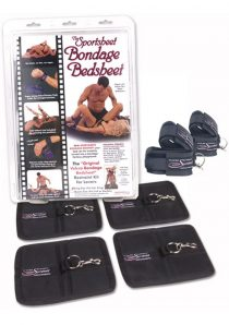 Bondage Bed Sheet King Black