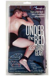 Manbound Under The Bed Restraint Gear Black