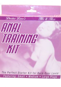 Doctor Loves His And Hers Anal Training Kit The Perfect Starter Kit