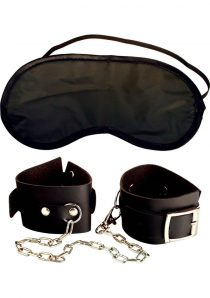 Fetish Fantasy Series Beginners Cuffs Black