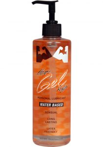 Elbow Grease Hot Light Gel Water Based Lubricant 18 Ounce