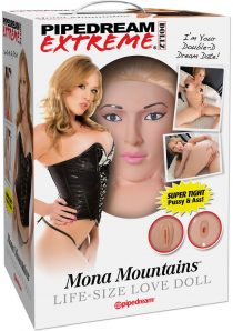 Pipedream Extreme Dollz Mona Mountains Life Size Blow Up Love Doll Flesh