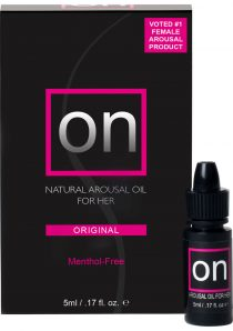 On Natural Arousal Oil For Her Boxed .17 Ounce