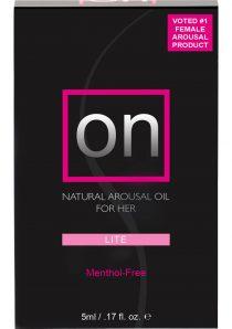 On Arousal Oil Light For Her Boxed .17 Ounce Bottle