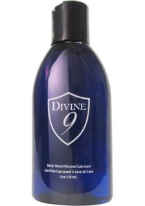 Divine 9 Water Based Lubricant 4 Ounce