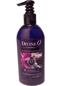 Divine 9 Water Based Lubricant 8 Ounce
