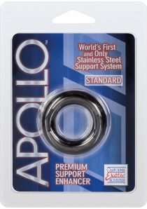 Apollo Premium Support Enhancer Cockring Standard Smoke 1.75 Inch Diameter