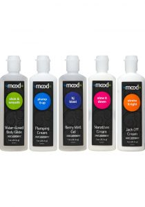 Mood Pleasure For Him Enhancement Gels Assorted Gels 1 Ounce 5 Each Per Pack