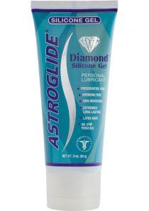 Astroglide Diamond Silicone Gel Personal Lubricant 3 Ounce Tube