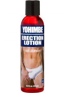 Yohimbe Erection Lotion Strawberry 6 Ounce Bottle