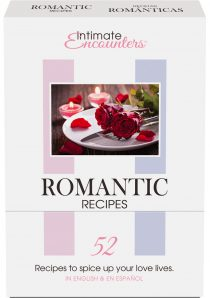 Intimate Encounters Romantic Recipes 52 Cards