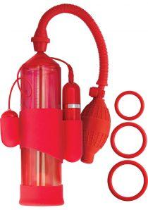 Mack Tuff Vibrating Steelmaker Vibrating Pump Red