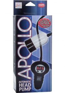 Apollo Automatic Head Pump Wired Remote Control Penis Pump Clear