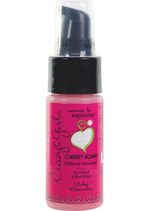 Crazy Girl Cherry Bomb Clitoral Arousal Cream Wicked Watermelon 1 Ounce