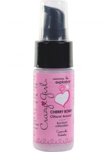Crazy Girl Cherry Bomb Clitoral Arousal Cream Cupcake Sweetie 1 Ounce