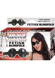 Dominant Submissive Collection Fetish Blindfold Black