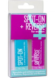 Spot On and Reverse For Women Stimulant And Enhancer Kit 2 Each Per Kit