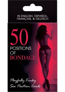 50 Positions Of Bondage Sex Position Cards
