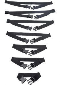Master Series Subdued Full Body Strap Set Black