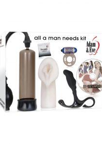 Adam and Eve All A Man Needs Kit