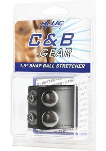 CandB Gear Snap Ball Stretcher Adjustable Black 1.5 Inch