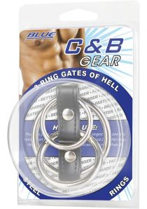 CandB Gear 3 Ring Rubber Gates Of Hell With Lead Steel