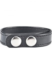 CandB Gear Snap Cock Ring Black 2 Inch