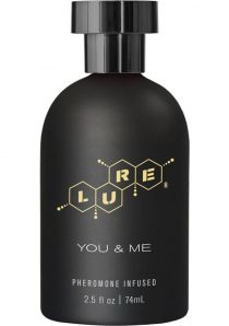 Lure For You and Me Pheromone Infused Personal Scent 2.5 Ounce